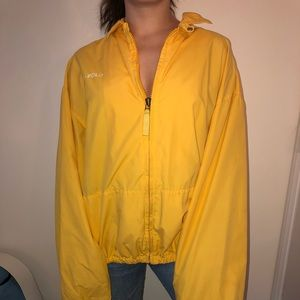 YELLOW Ralph Lauren Polo Jacket/Windbreaker